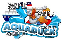 Disney Cruise Aquaduck Water Slide Scrapbook by Goscrapyourlife