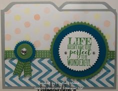 Perfect Life File Folder Card 2 by Muffin's Mama - Cards and Paper Crafts at Splitcoaststampers