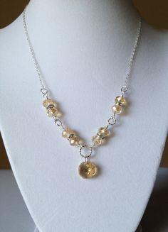 November Sun necklace · Blue Door Bazaar · Online Store Powered by Storenvy