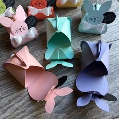 love my friends Fancy Friday - Spring Inspiration Bunnies! Diy And Crafts, Paper Crafts, Diy Ostern, Easter Candy, Craft Show Ideas, Easter Crafts For Kids, Spring Crafts, Keepsake Boxes, Craft Fairs