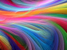 Confused which color to choose for your wedding? Well why don't you celebrate your wedding with a color splash! There is a growing interest on having a Rainbow wedding theme. From flowers, bridesmaids rainbow. Rainbow Fish, Rainbow Colors, Vibrant Colors, Rainbow Art, Happy Colors, Rainbow Swirl, Soft Colors, Liquid Rainbow, Rainbow River