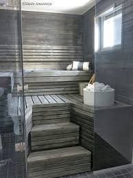 One of their wishes is a Sauna! This image is very inspiring: Sauna on the Arctic Circle with Tulikivi Sumu saunaheater. Saunas, Sauna Steam Room, Sauna Room, Sauna A Vapor, Sauna Hammam, Piscina Spa, Sauna Shower, Sauna Design, Outdoor Sauna
