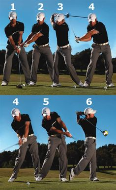 Paul Casey Swing Sequence Golf Tip