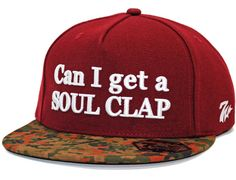 Can I Get A Soul Clap Snapback Cap by 7UNION