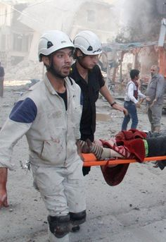 When the bombs rain down, the White Helmets rush in. Unarmed and neutral they've saved 60,000+ lives and counting. Support them now.