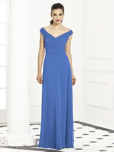 After Six Bridesmaids Style 6667 (shown in cornflower)