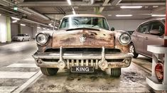 HDR   Car named King! Photo by Jorma Lindström
