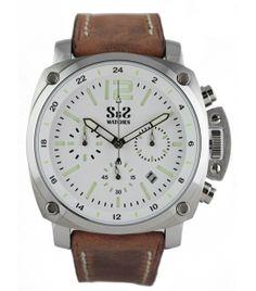 Reloj S&S Mod. SS-1916-BS Blanco/Verde