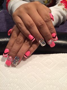 Pretty in pink bling
