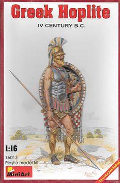 Greek Hoplite IV Century B.C 1/16, New, Sealed! #MiniArt