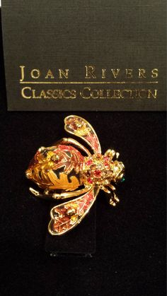 Retired Joan Rivers - 4 Seasons of Bees - Autumn Pin by 3LittleWitches on Etsy
