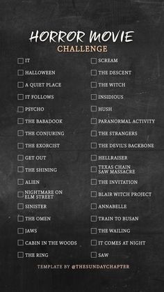 Movies I should watch🙂