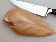 Knife Skills: How to Slice Chicken Breast for Stir-Fries
