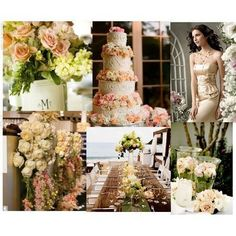 Get expert wedding planning advice and find the best ideas for wedding decorations, wedding flowers, wedding cakes, wedding songs, and more. Perfect Wedding, Dream Wedding, Wedding Day, Wedding Peach, Spring Wedding, Wedding Photos, Vintage Wedding Colors, Vintage Theme, Vintage Colors