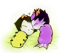 Eridan and Sollux grubs :)