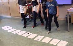 Dansprogrammering! – jennykodar.se Coding For Kids, Basketball Court, Education, Sports, Blue, Musicians, Hs Sports, Sport, Educational Illustrations