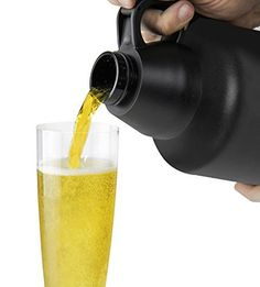 Amazon.com: Water Bottle/Beer Growler From ClassyStylez Offers Double Wall Insulated Stainless Steel Designed to Ensure Tap Fresh Flavor with Wide Mouth For Easy Filling, 64 Oz, Enhance Your Drinking Experience Now!: Kitchen & Dining