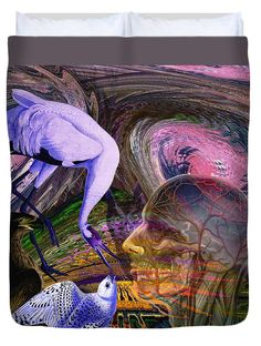 Climate Change Duvet Cover featuring the digital art Solar Whisper Winds I'm Changing by Joseph Mosley