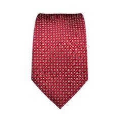 Cravatta Bambino, a motivi fondo rosso