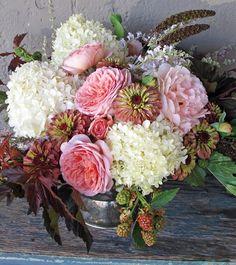 A lovely bouquet by Debra Prinzing.