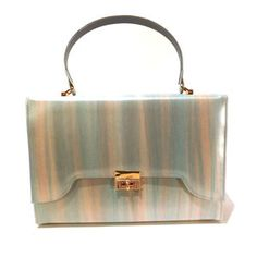 '60s Cotton Candy Leather Bag, $48, now featured on Fab.