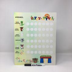 Potty training chart dry erase board, Reusable Toilet Training Reward Sign, Potty training white board, Potty time reusable sign, Rewards by CreativeCraftRooms on Etsy https://www.etsy.com/listing/533618972/potty-training-chart-dry-erase-board