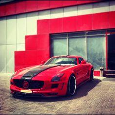 Mercedes SLS Hamman