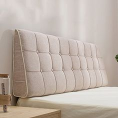 Pillow Headboard, Bed Rest Pillow, Bed Pillows, Cushions, Bed Headrest, Bed Backrest, Headboard Designs, Headboards For Beds, Bed Sizes