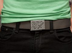 J!NX : Minecraft Ironsword Belt - Clothing Inspired by Video Games & Geek Culture