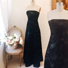 Elsbeth  disponible dans notre collection Bal ! #Boutique1861  Holiday dresses - Christmas 2016 - black dress - Sequins - Maxi Prom - New year's eve outfit