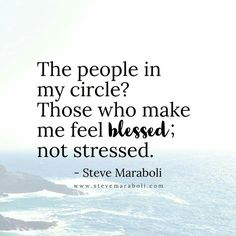 People in my circle #feelblessed #notstressed