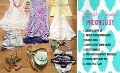 Beach Vacation Packing List // La Petite Fashionista Mag Issue #4 http://lapetitefashionista.blogspot.com/p/magazine.html