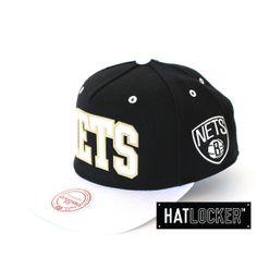 Brooklyn Nets Sonar Snapback by Mitchell & Ness   www.hatlocker.com  #snapback #brooklyn #mitchellness