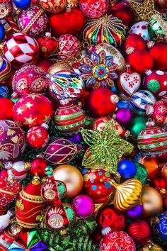 Abundance Of Christmas Ornaments Photograph By Garry Gay All For Classic Christmas Gay Christmas, Mexican Christmas, Christmas Scenes, Christmas Mood, Christmas Pictures, Rustic Christmas, Christmas Lights, Vintage Christmas, Christmas Ornaments