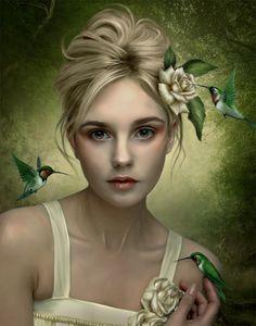 Digital Portraits By Elena Dudina