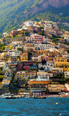Beautiful Positano ~ Amalfi Coast, Italy -- Copyright: Francesco R. Iacomino / via shutterstock