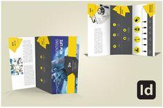 Tri Fold Brochure Template by Nandita Pal on @creativemarket