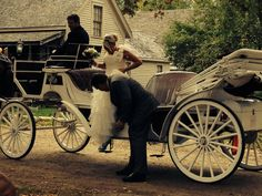 Camelot Clydesdale Farm. Carriage to bring you to outdoor ceremony