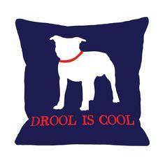 Bull Dog Pillow