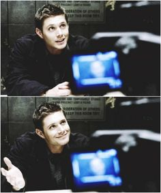 """""""I'm Adorable"""", Yes yes you are! lol #Supernatural #Dean <3"""