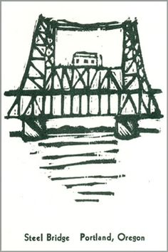 10 Bridges of the Willamette:  Steel Bridge