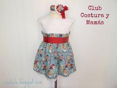 Club Costura y Mamás. Iniciativa de Mamacosesola y La Pequeña Aprendiz