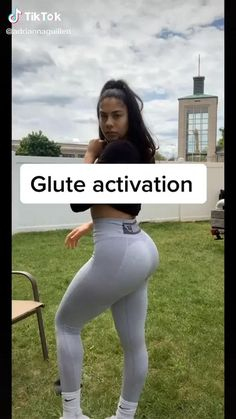 Leg And Glute Workout, Gym Workout Videos, Gym Workout For Beginners, Fitness Workout For Women, Yoga Fitness, Hamstring Workout, Workout At Home, Full Body Hiit Workout, Glute Exercises