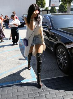 KYLIE out shopping in Beverly Hills - May 30th 2015