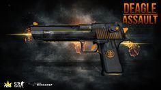 Desert Eagle | Assault (CSGO Workshop) By Fabian (C) Noble Network http://steamcommunity.com//sharedfiles/filedetails/?id=384636796