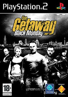 For The Getaway: Black Monday on the PlayStation a box shot for the EU - release on GameFAQs. Playstation 2, Ps4, Grand Theft Auto, Nintendo 3ds, Mario Party 7, Mega Drive Games, Sega Game Consoles, Hope For The Future, Classic Video Games