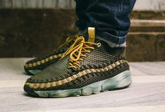 Nike Air Footscape Woven Chukka Sneakers, Chukka Boot, Sneaker Boots, Sneakers Fashion, Fashion Shoes, Mens Fashion, Kicks Shoes, Shoes Sneakers, Formal Shoes
