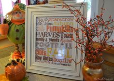 The Frugal Homemaker = 31 days to decorating your home. Free printables as art.