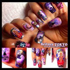 Meditation #NailArt #BritneyTOKYO #LA