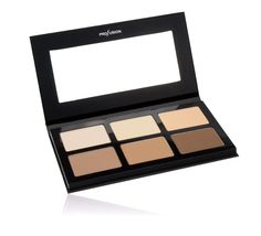 Six color contour palette to define your features like a pro.  Colors are Nude, Beige, Peach, Taupe, Soft Brown, Coffee Brown.  Pigmented and blendable, making the Pro Contour one of our most popular palette of the year
